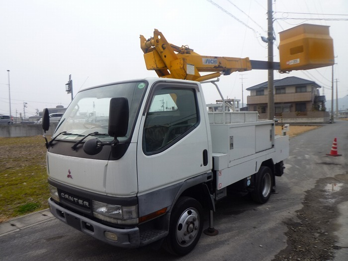 2001y Mitsubishi Canter aerial lift truck